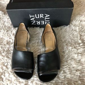 NWOT Naturalized Jaime D'orsay Flats in Box